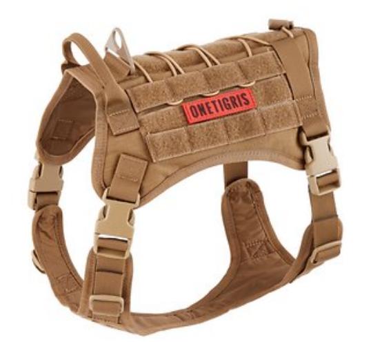 Tactile Dog Training Harness